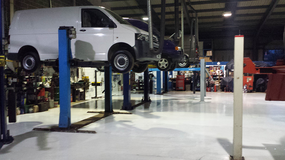 Our service and MOT workshop